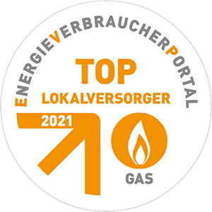 TOP-Lokalversorger Gas 2021